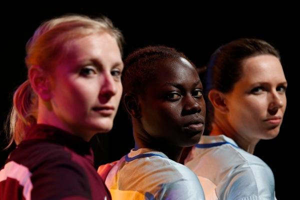 Jessica Dennis, Marieme Diouf and Fizz Waller offside_285